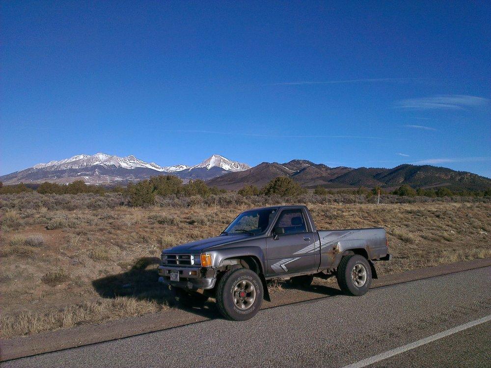 medium resolution of roxanne in the sangre de cristo mountains on our way to sedona az