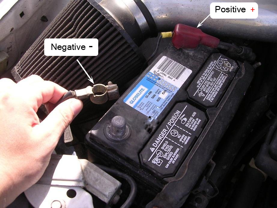 1994 ford explorer starter wiring diagram gibson les paul classic premium plus 1995 f150 replace how to trucks step 1 disconnect the battery