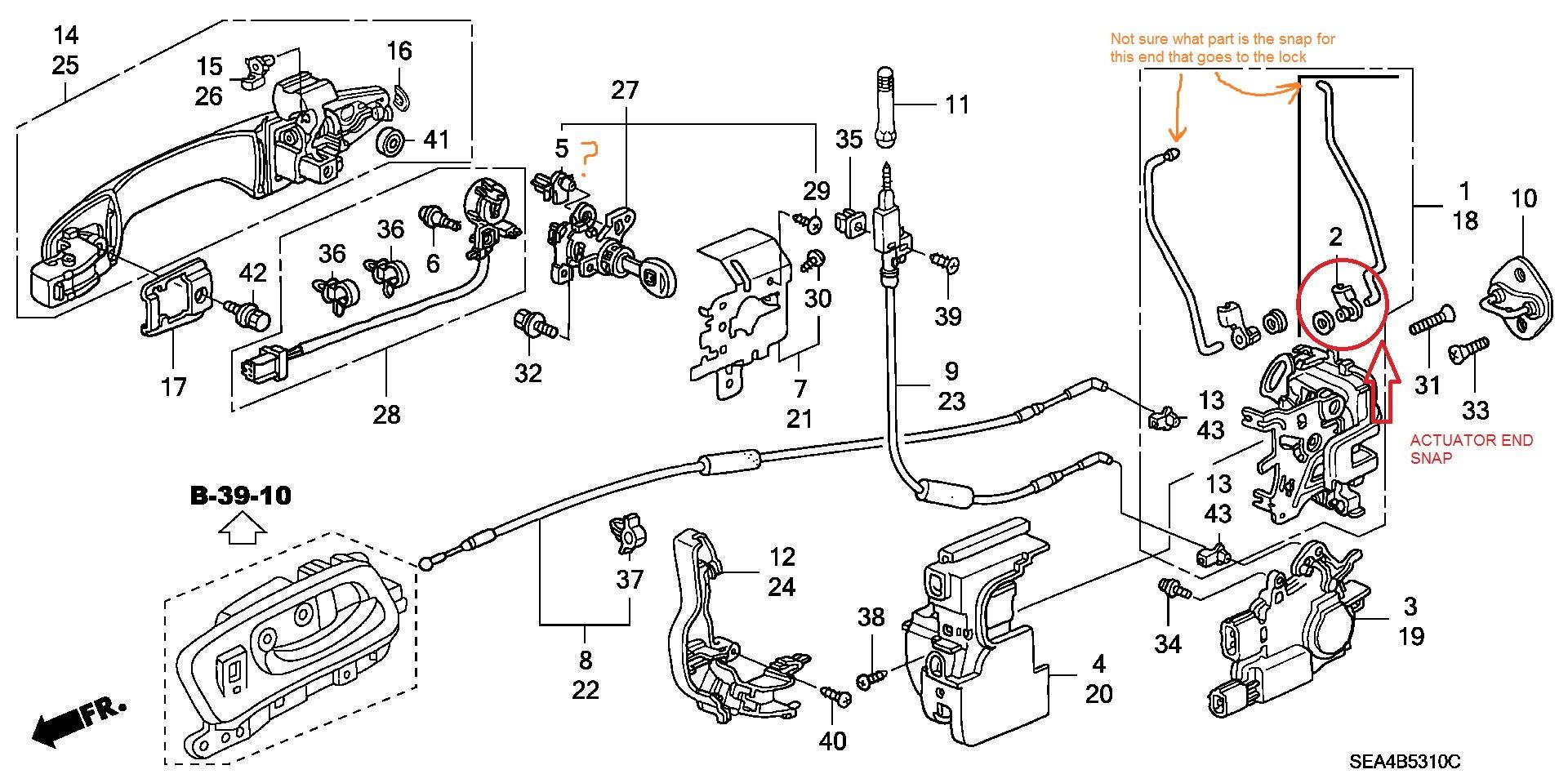 F-179: DIY-Pass. Door Lock Actuator Replacement, W/ Pics