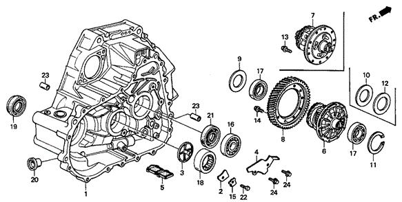 Viscous 14 bolt LSD B series Hydro Ball Bearing Conversion