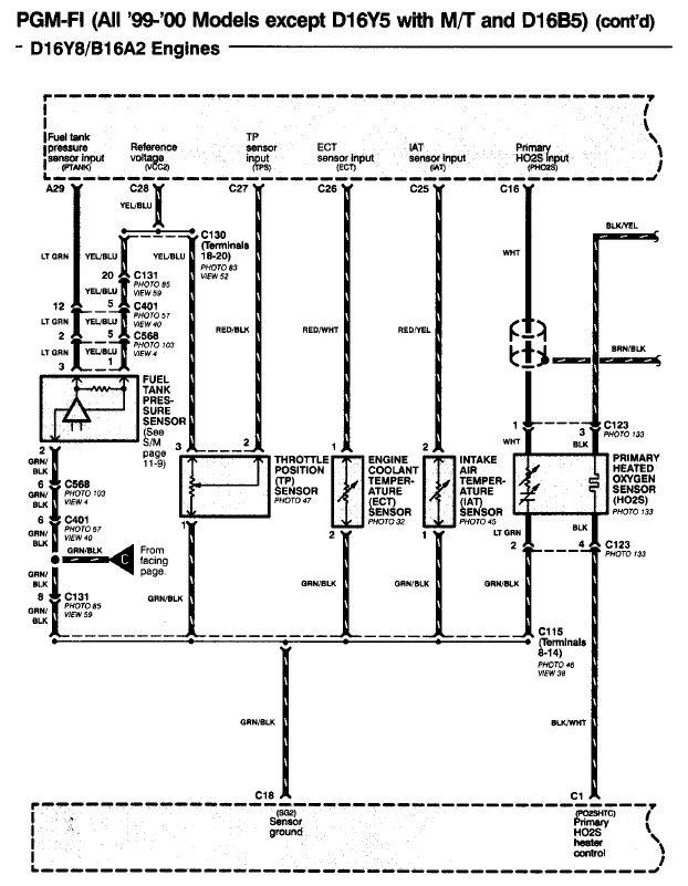 D16a6 Engine Wiring Harness Diagram Engine Hose Diagram