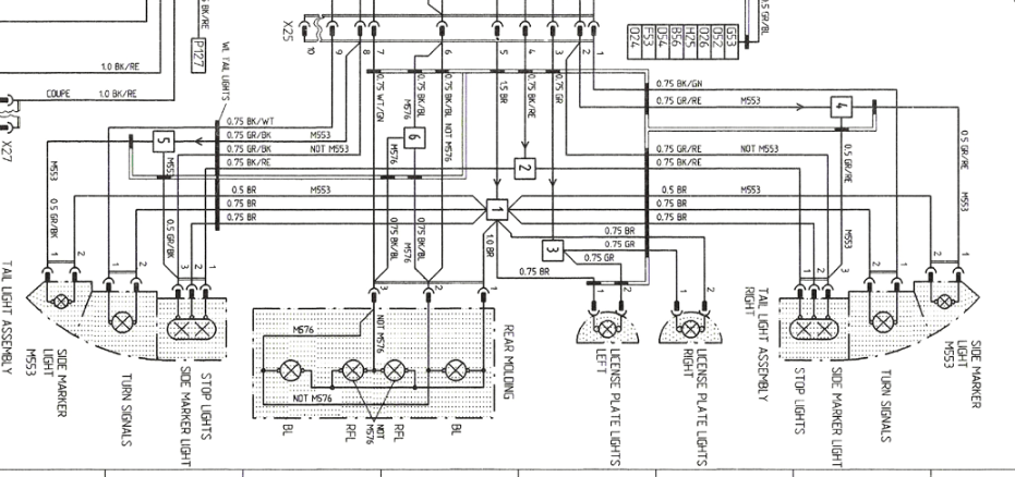 Need part number for reverse light connector (not switch