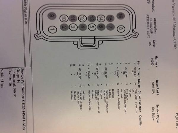 Headlight Relay Wiring Diagram 1966 Mustang Turn Signal Wiring Diagram