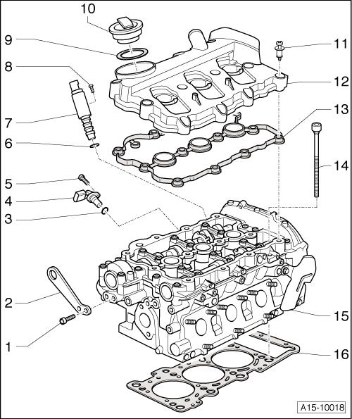 Position camshaft sensor G40 audi c6 2,4l enginecode BDW