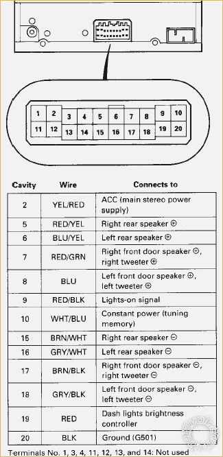 92 civic stereo wiring diagram  2002 mustang mach sound