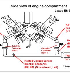 es 350 air fuel and oxygen sensor info clublexus lexus forum location diagram of a f sensor bank 1 sensor 1 02 lexus rx 300 3 [ 1412 x 718 Pixel ]