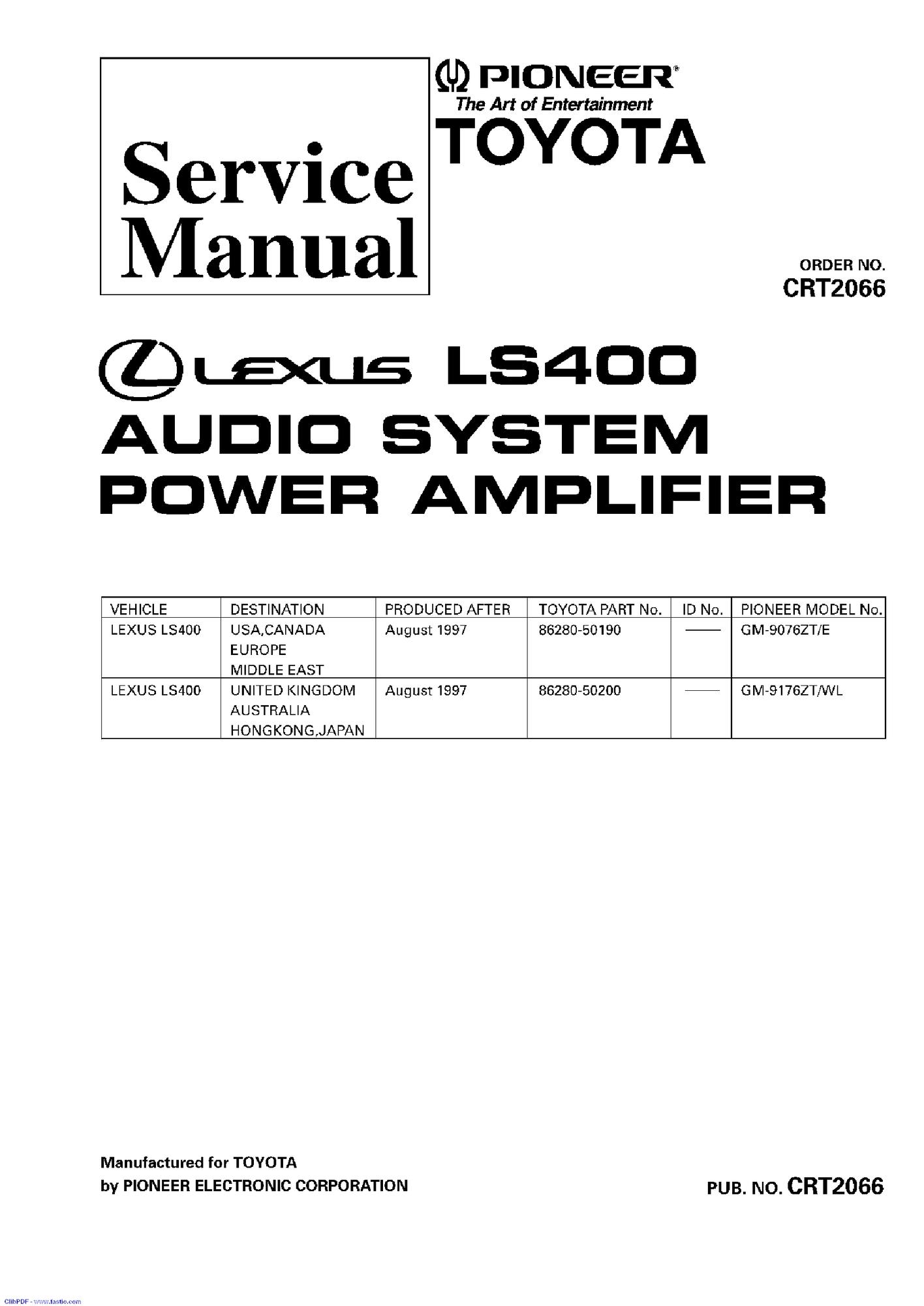 95 Lexu Engine Diagram
