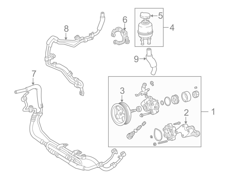 Power Steering Return Hose Replacement