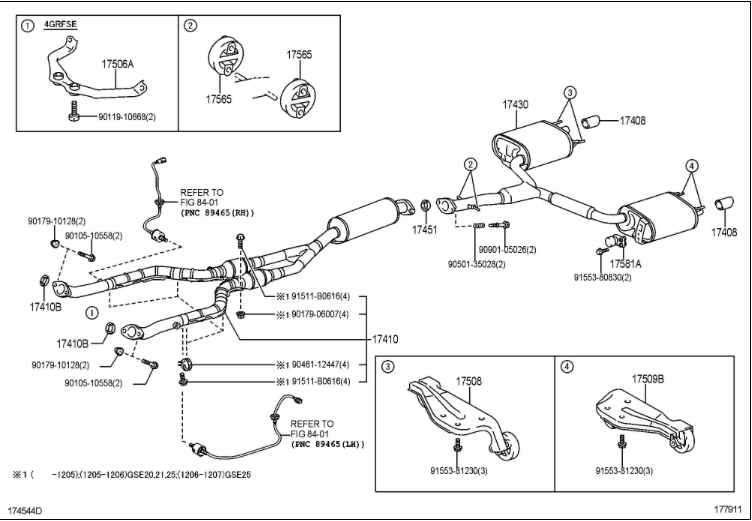 Lexus Is 250 Wiring Diagram : 2008 Lexus Is250 Fuse