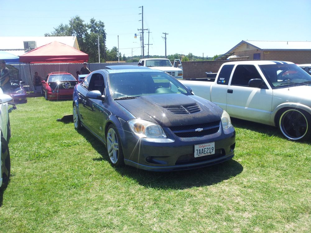 medium resolution of our 06 cobalt ss sc and our 01 gmc sonoma at a local car show