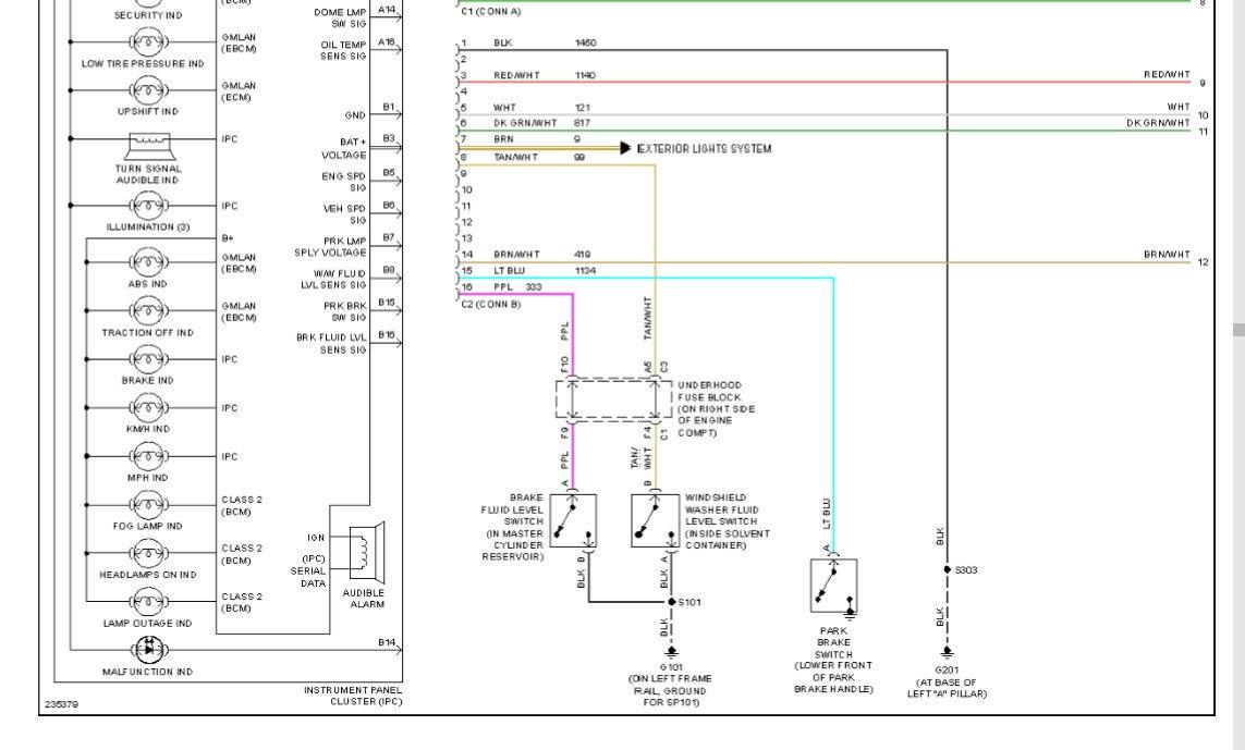 02 Corvette Wiring Diagrams Detailed Schematics Diagram 1958 Dash 68 Lights