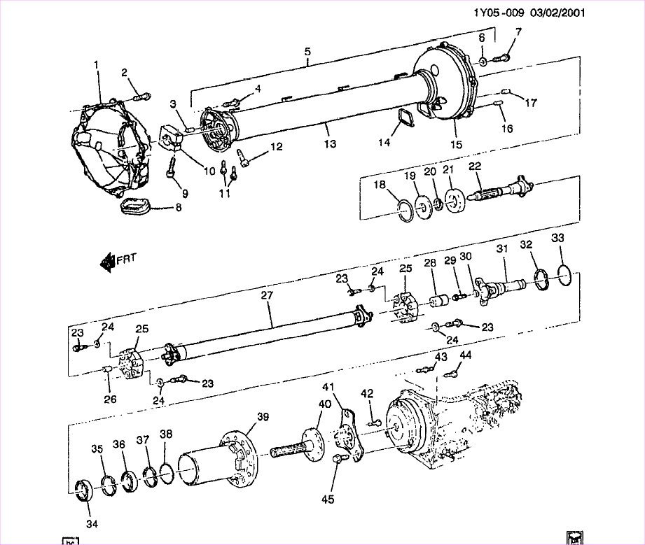 It is possible to buy this torque tube parts