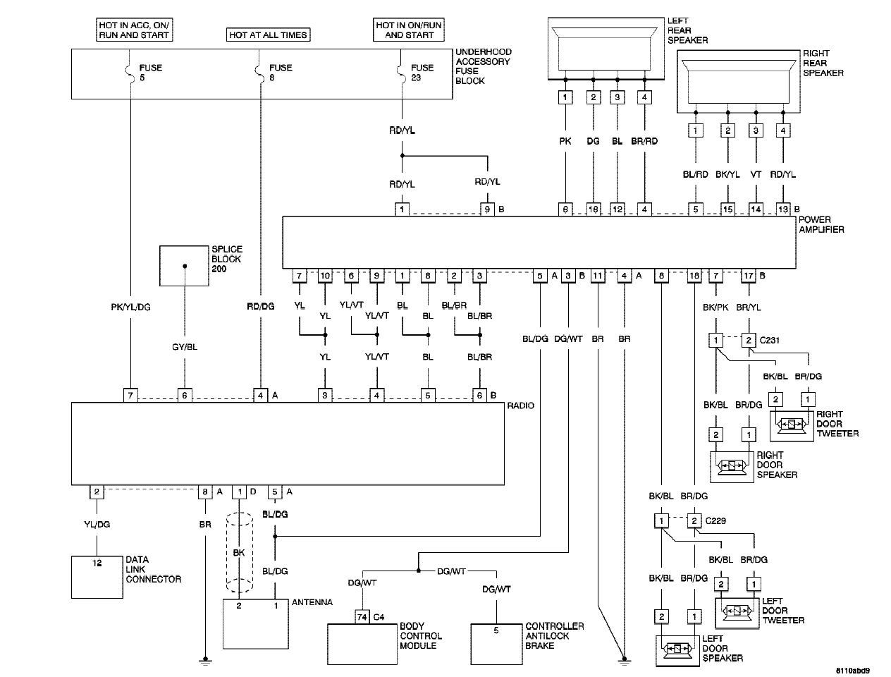 hight resolution of factory amp wiring question crossfireforum the chrysler radio wiring