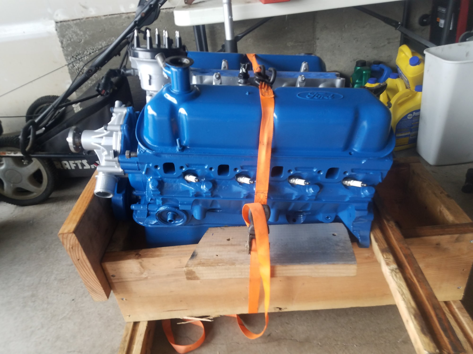 hight resolution of bored over 02 hypereutectic pistons heads have been redone with new valves and a 3 angle valve job came out of a 97 f250 and hasn t been run since
