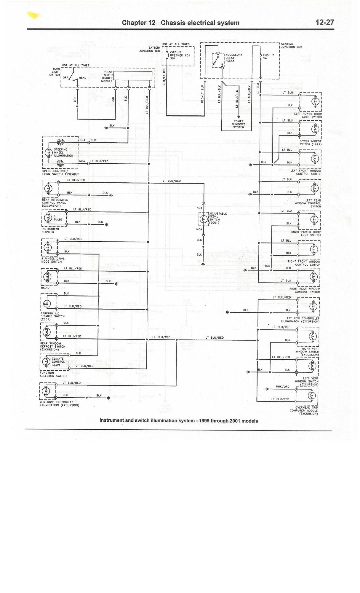 Ford F Fuse Box Diagram Climate Wiring Starter Electrical