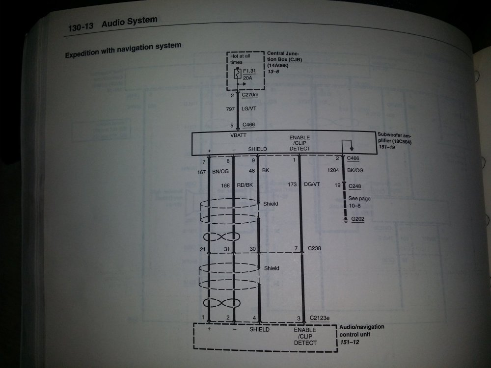 medium resolution of  wiring diagram flow on 2003 expedition transmission adding a amp and sub to stock 2003 system ford truck enthusiasts on 2003 expedition