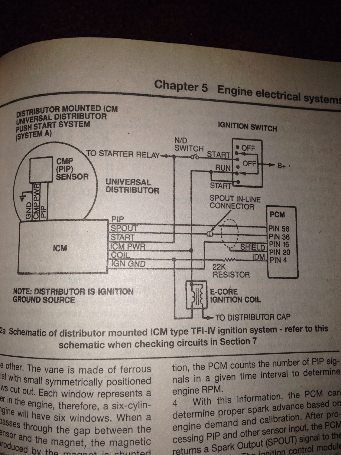 hight resolution of ford diesel tractor ignition module wiring diagram