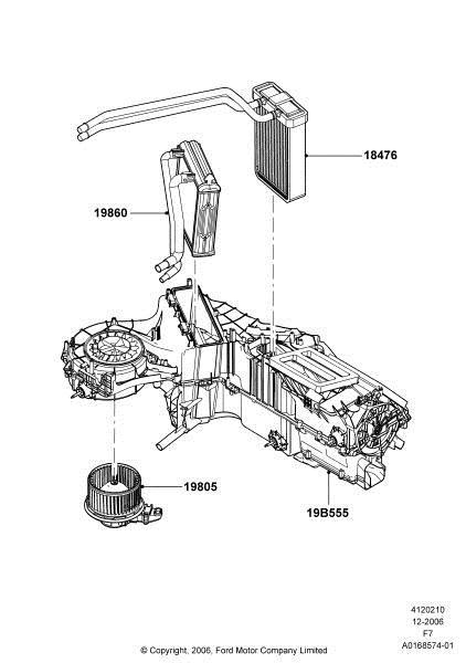 Service manual [2008 Ford E350 Heater Coil Replacement