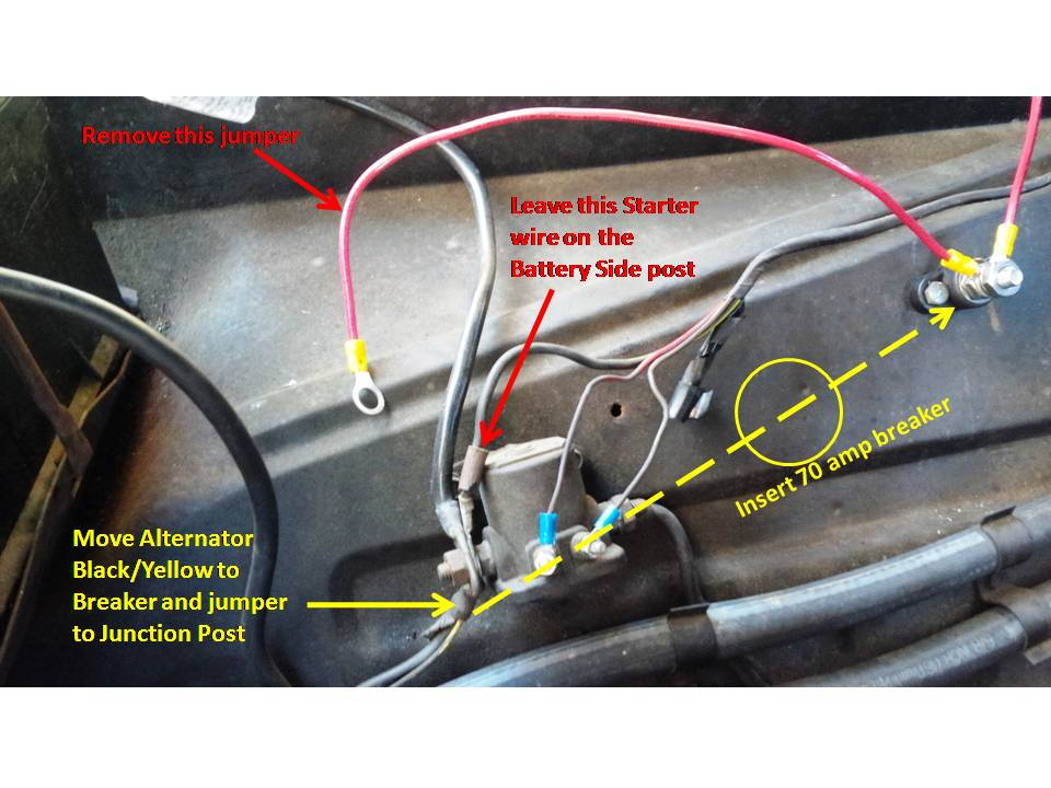 One Wire Alternator Wiring Diagram Please Ffcarscom Factory Five