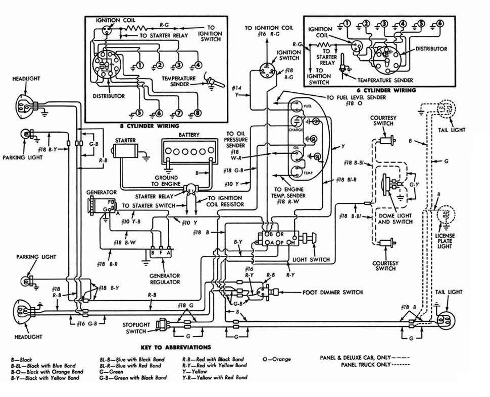 53 ford f100 wiring diagram