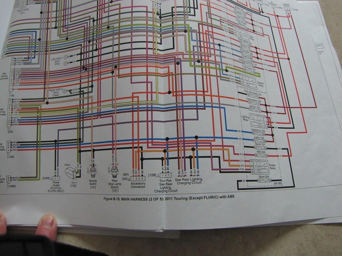 hight resolution of 2001 flhr wiring diagram