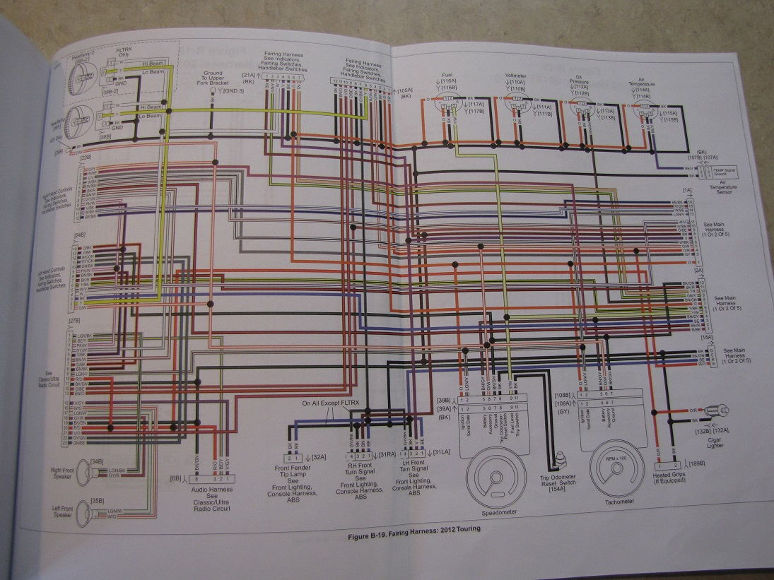 hight resolution of wiring diagram 2013 road king harley davidson forums