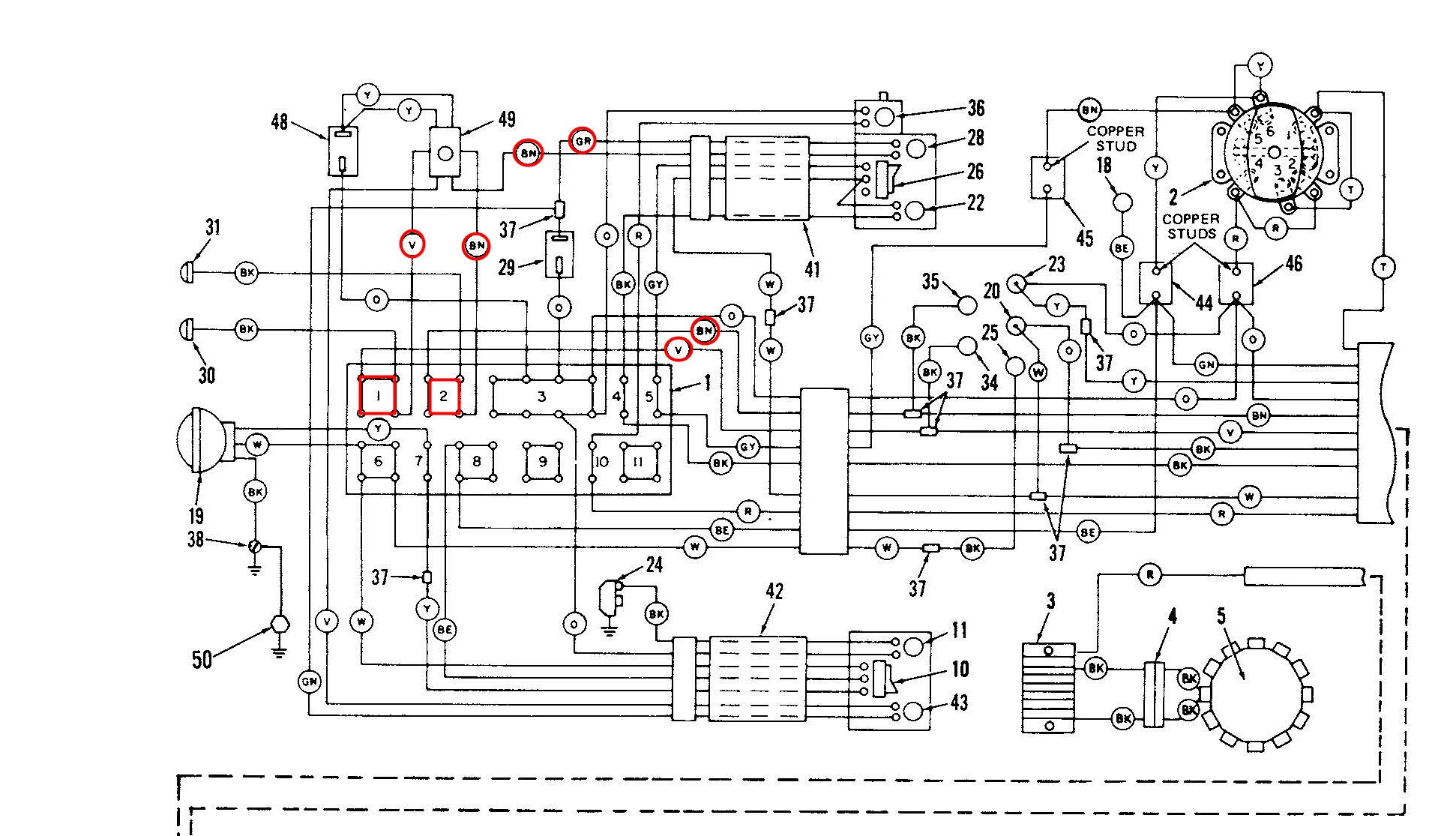 hight resolution of dyna turn signal wiring diagram wiring library 79 flh 80 turn signal wiring questions page 2