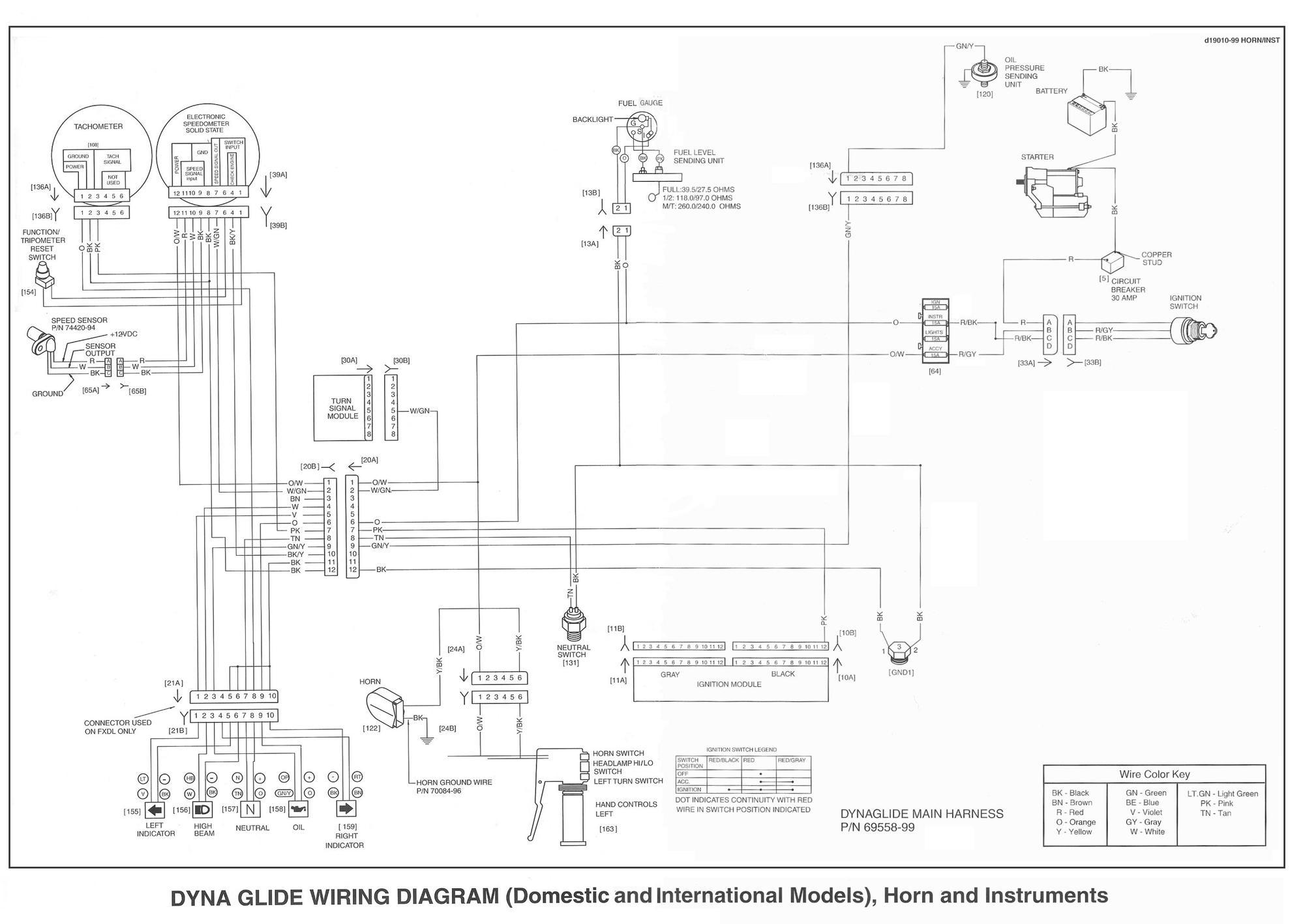 1998 Flstc Wiring Diagram | Wiring Schematic Diagram on