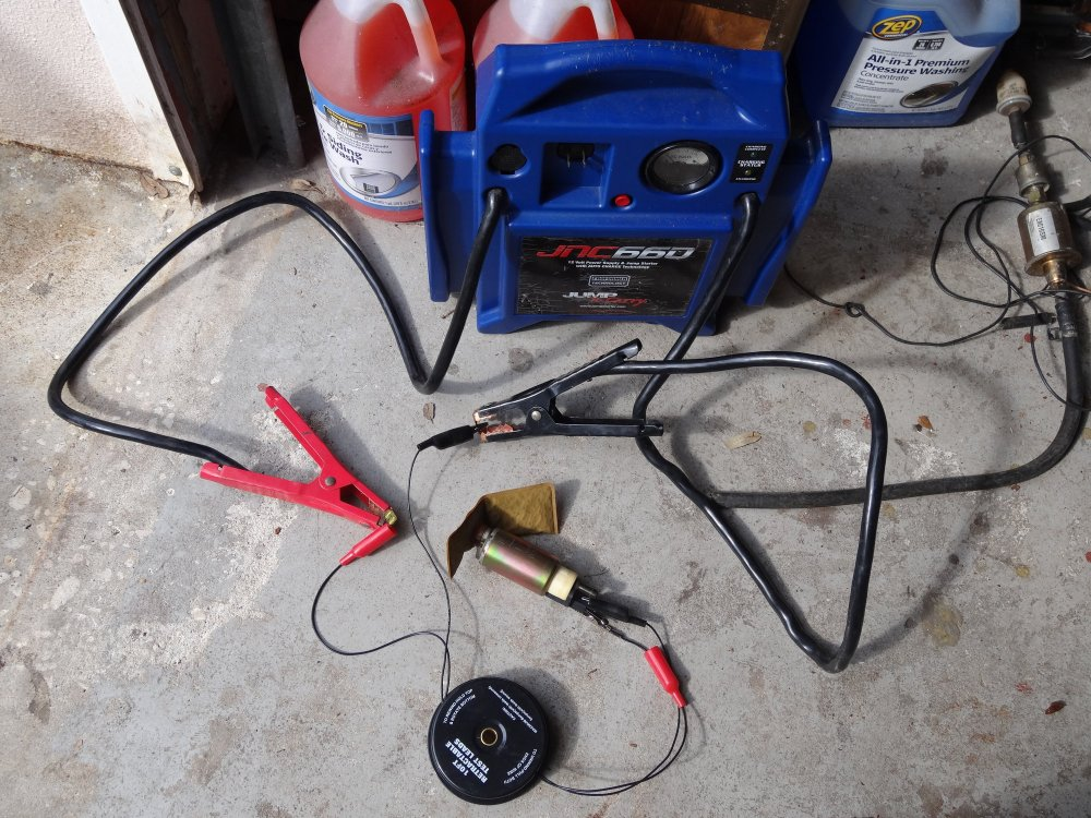 medium resolution of original fuel pump tested with 20 amp fuse in circuit it was no good
