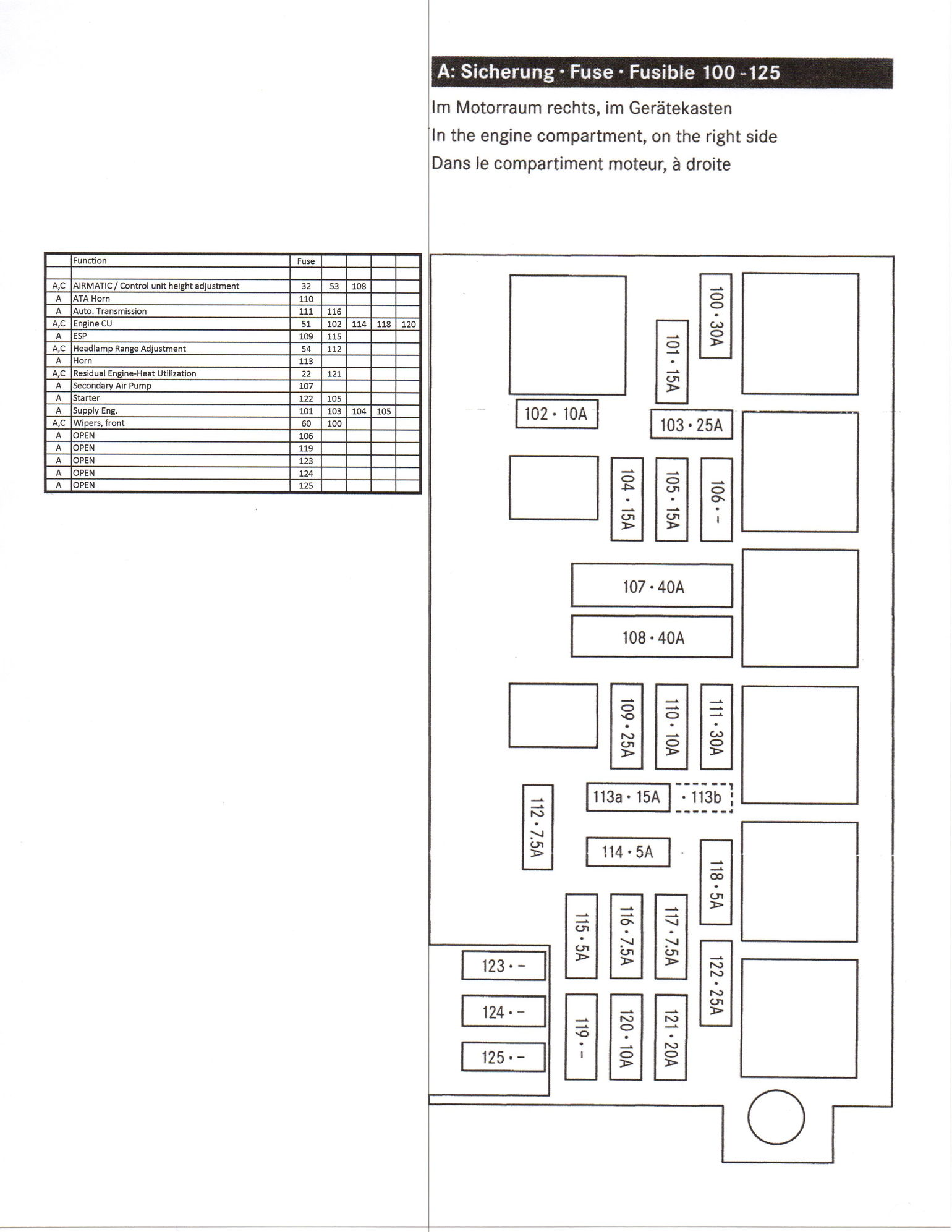 Mercedes Benz E550 Fuse Box. Mercedes. Auto Fuse Box Diagram