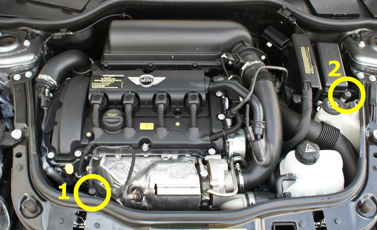 hight resolution of how to install bsh occ on 2009 r56 with optional hood latch sensor 2009 mini cooper turbo engine 2009 mini cooper engine schematic