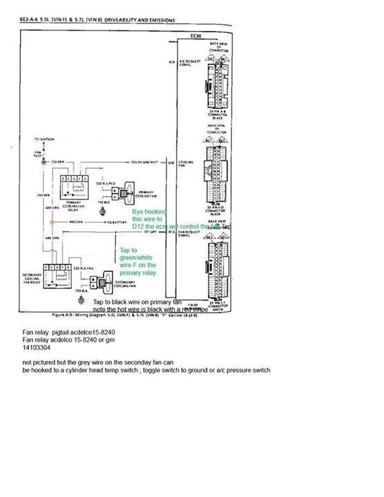 electric fan wiring help 7730 ecmfandiagram