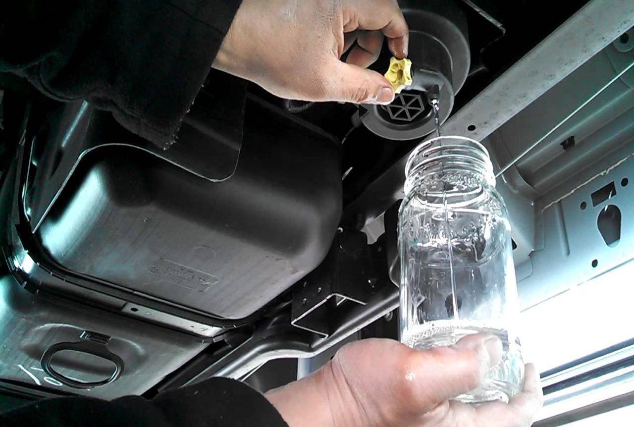 1999 Chevy Silverado Fuel Filter Location
