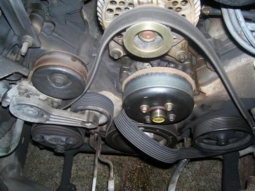 2005 ford escape serpentine belt diagram teco single phase motor wiring f150 overheating truck - ford-trucks