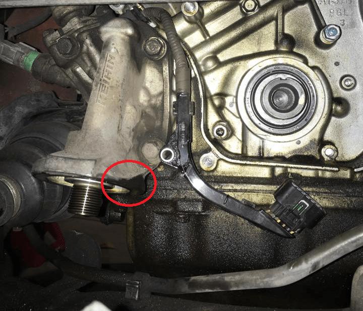 2015 Honda Odyssey Oil Filter Location