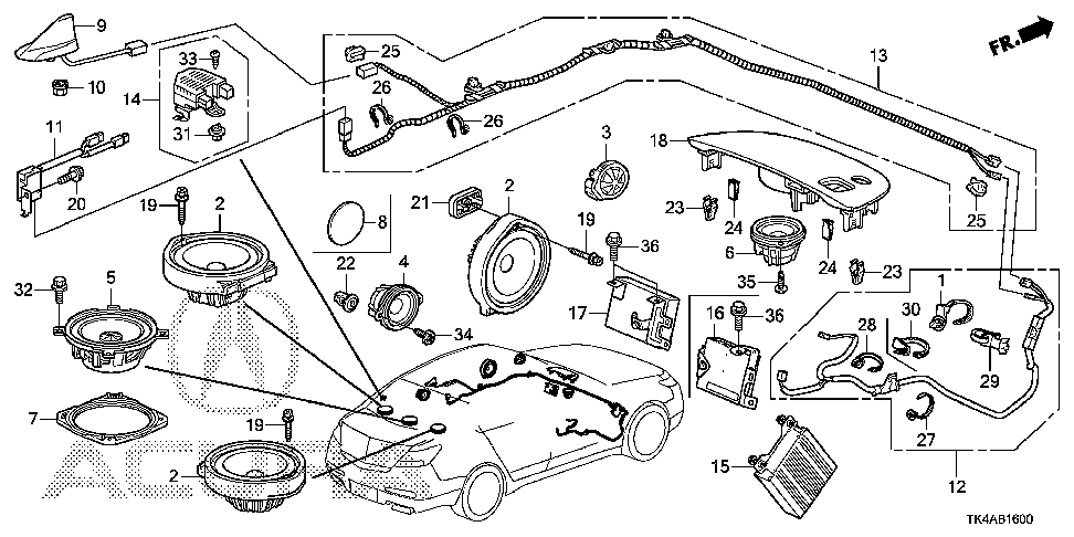 Acura Tl Speaker Diagram, Acura, Free Engine Image For