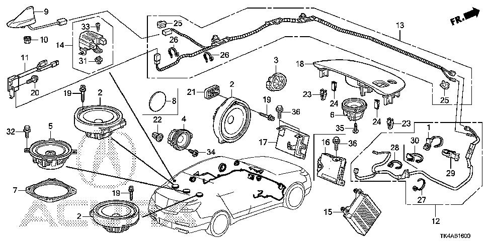 2004 acura tsx speaker wiring diagram
