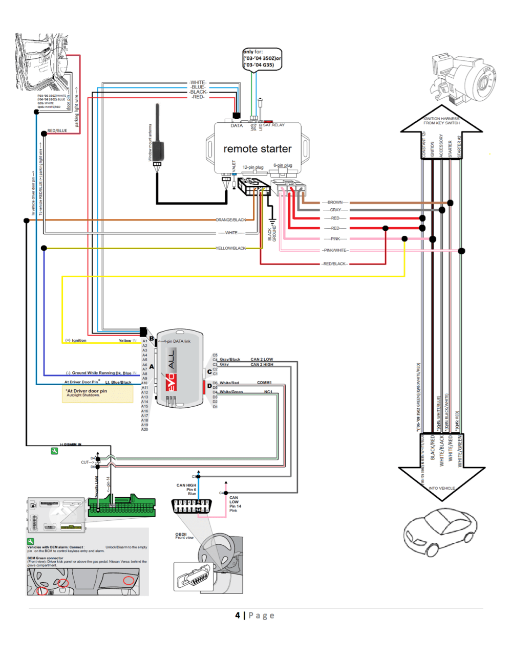 medium resolution of 2005 infiniti g35 trunk wiring diagram