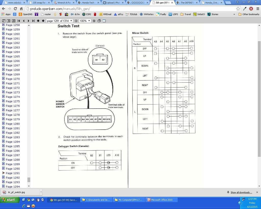1992 honda prelude wiring diagram samsung dryer heating element power heated mirror switch tech forum
