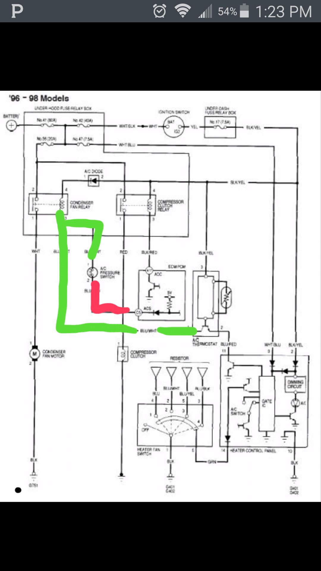 No Ac Heater Control Panel