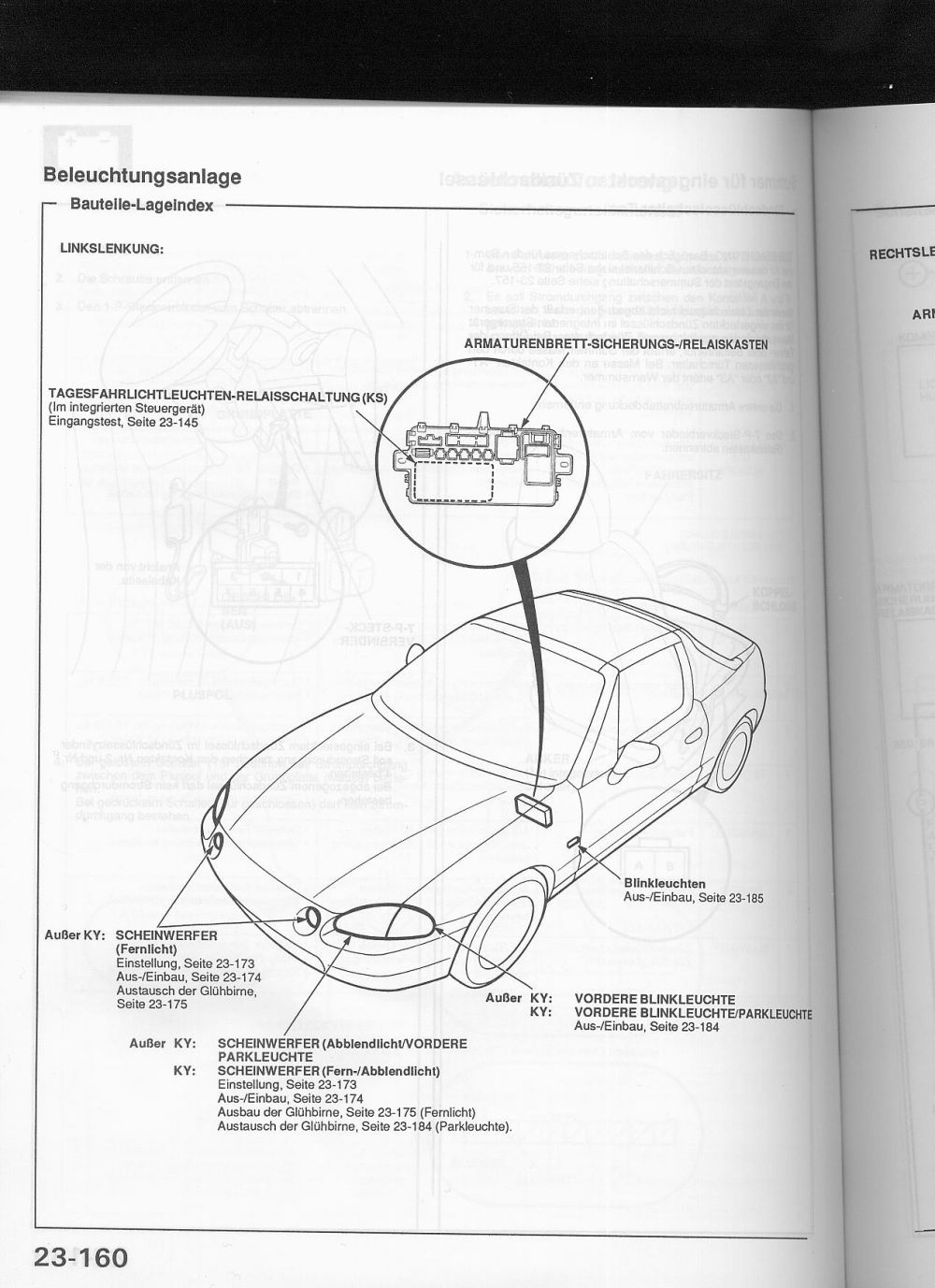 medium resolution of these are actually high beam lights fernlicht in europe here is the wiring diagram for germany france it s in german best i can do