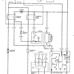 95 Honda Civic Headlight Wiring Diagram Electrical Circuit Worksheet A/c Doesn't Work - No Voltage To Condenser Fan Relay From Fuse 35 Honda-tech ...
