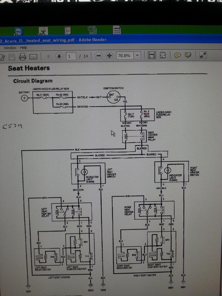 1995 Honda Del Sol Fuse Box Diagram
