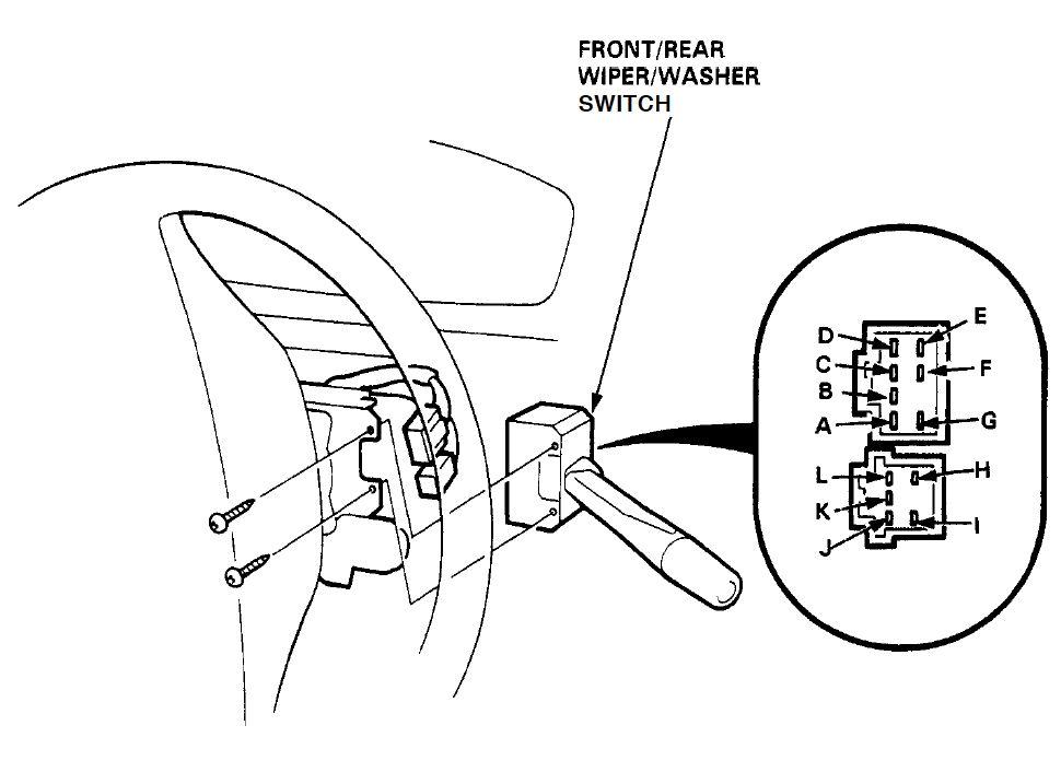 94 Honda Civic Dx Del Schaltplan