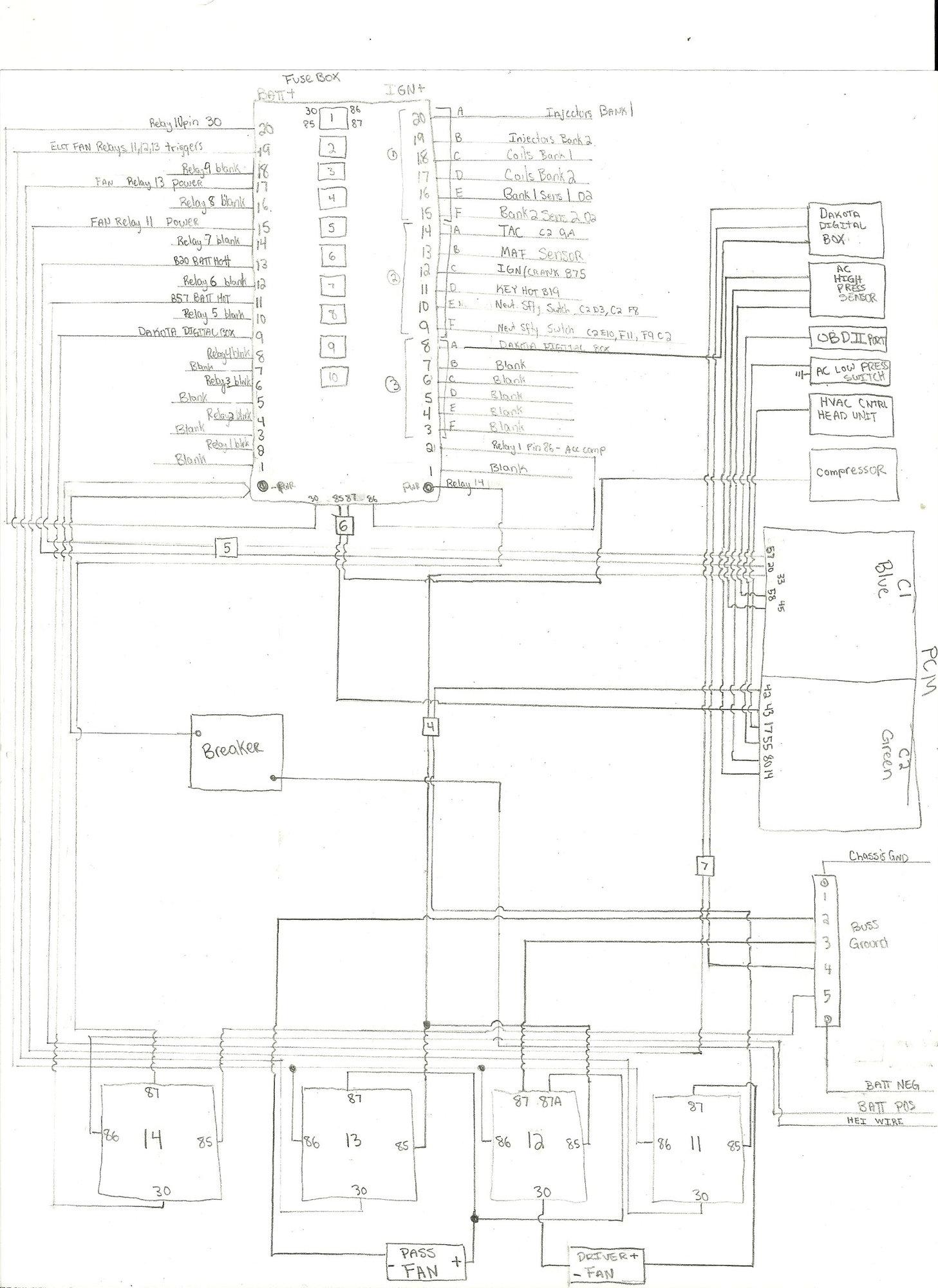 Explain 3 Relay Dual Fan Wiring Like I M 5