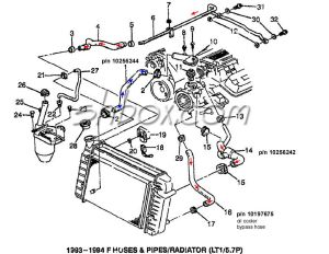 c3 lt1 swap  steampipe and power steering  LS1TECH