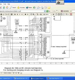 yesterday i was looking at the wiring diagram of my erst2 and i noticed that from the ignition ecu starts two wire that are called knock threshold  [ 1024 x 768 Pixel ]