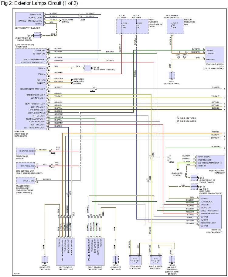 porsche cayenne headlight wiring diagram