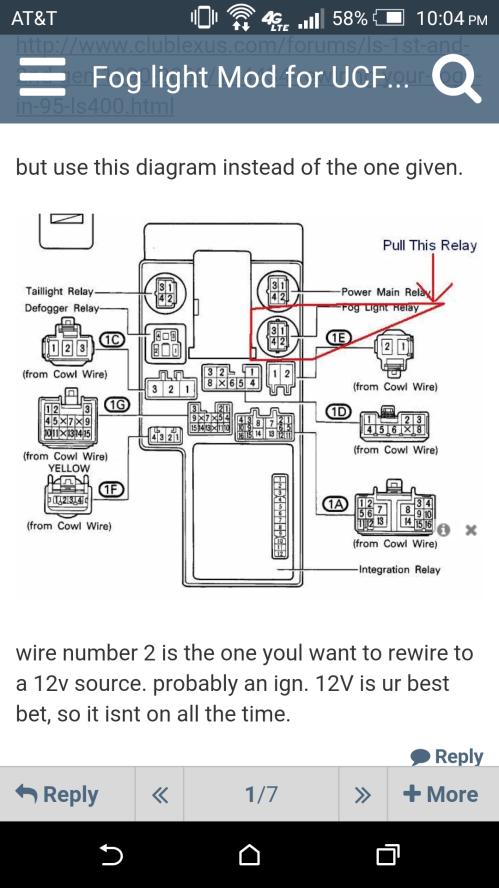 small resolution of lexus fog lights wiring diagram wiring diagram show lexus lights wiring diagram