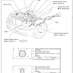 Car Bank 1 Diagram Honeywell Rth221 Wiring Trying To Locate Sensor O2 For P0135